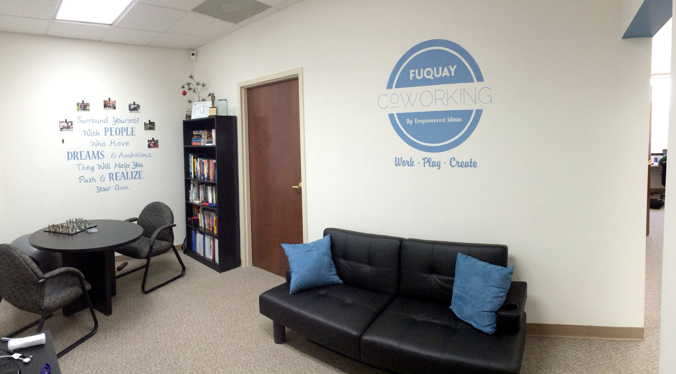 Coworking archives fuquay coworking by empowered ideas Coworking space design ideas