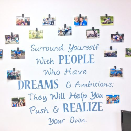 Fuquay-Coworking-Dreams-Wall
