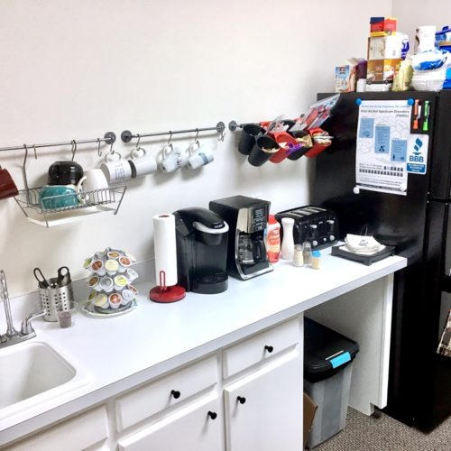 Fuquay-Coworking-Kitchenette