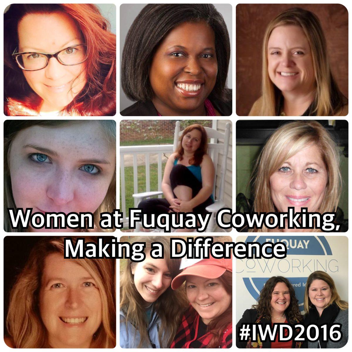 Fuquay Coworking Celebrates International Women's Day 2016