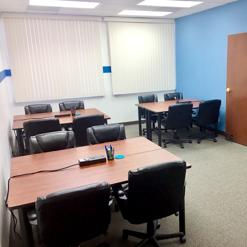 Shared Desk Areas at Fuquay Coworking