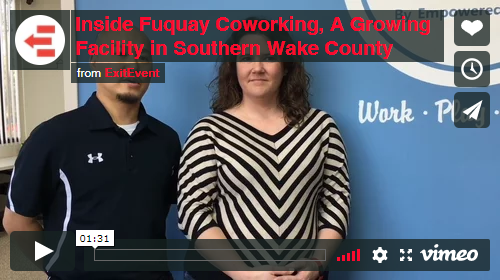 The Triangle Startup Space Update Part Two 2017 Openings ExitEvent Fuquay Coworking