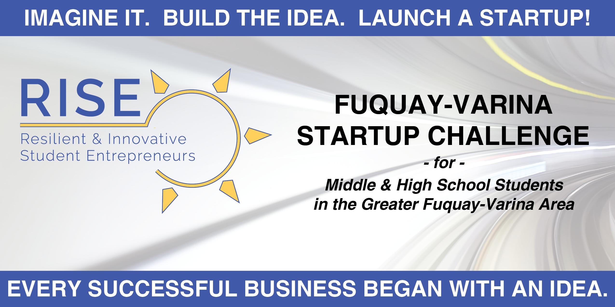 RISE Fuquay-Varina Startup Challenge